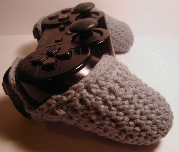 Crochet Xbox Controller : PS3 Controller Cozy - Side View Geeky Stuff Pinterest