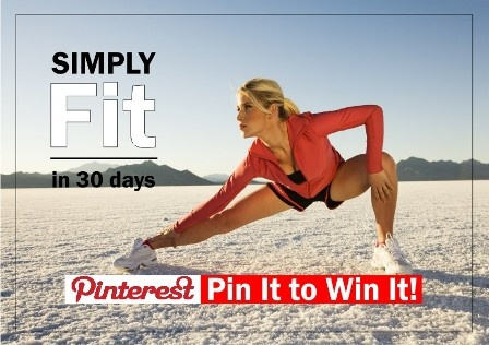 Pin It to Win It! This Mondays prize is a 30 day fitness routine designed by me...a complete 5 day routine, repeated for 4 weeks. You can do it from home or gym...make it beginner, intermediate or advanced. Its flexible, effective, powerful. If you are ready, Pin It to Win it! Leave a commnet or like so I know who you are. Winner announced Tuesday! For more opportunities, visit http://www.el3mentsofwellness.com