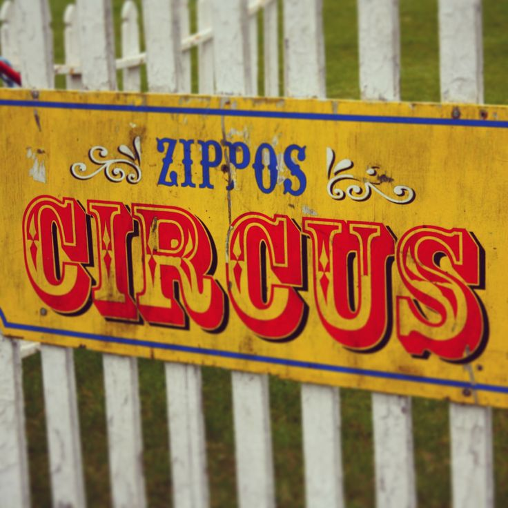Vintage Circus Signs 94