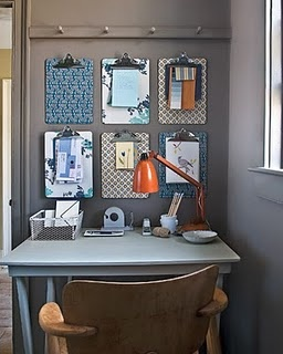 multiple clipboards for organization