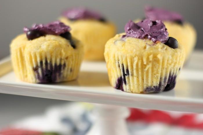 Blueberry Corn Muffins | Yumm... | Pinterest