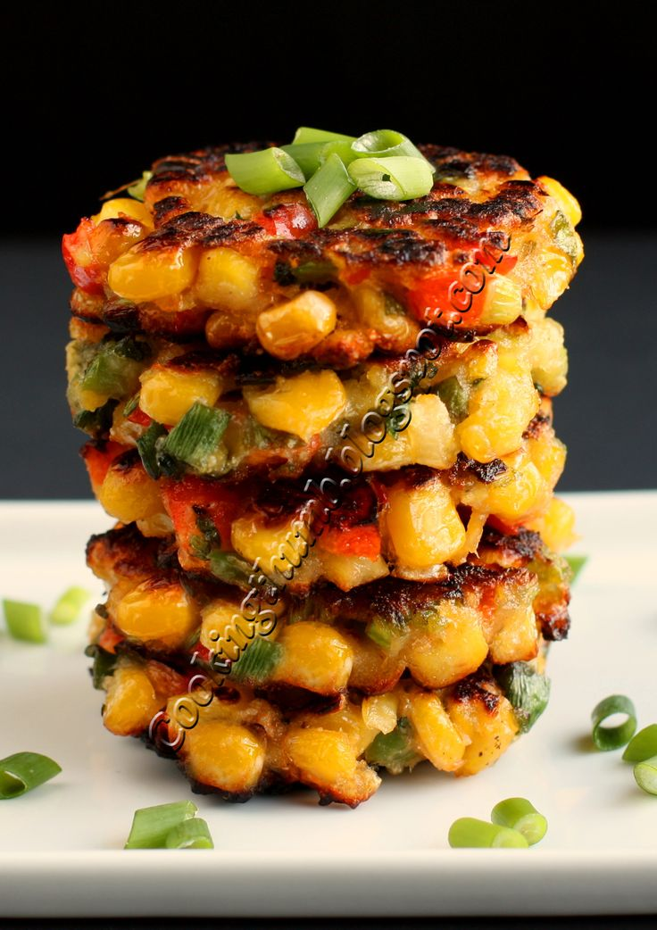 Spicy Corn Fritters | FOOD | Pinterest