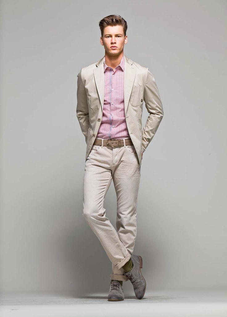 Pink and khaki   Mens Style   Pinterest