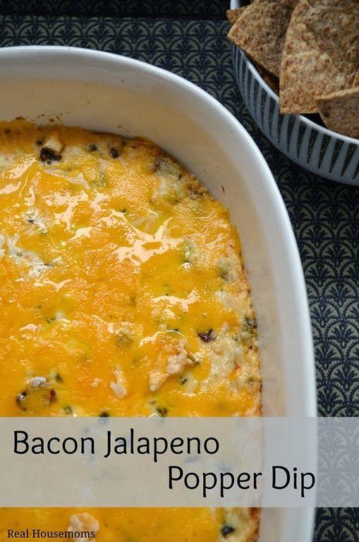 Bacon-Jalapeno-Popper-Dip | Let's Get It Started | Pinterest