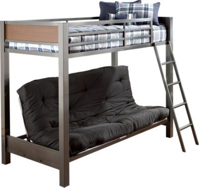 Bunk Bed With Couch On Bottom Anthony Pinterest