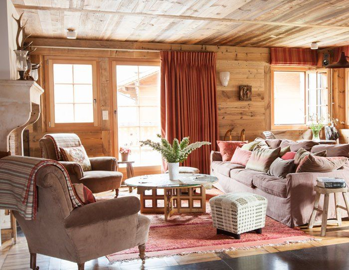 swiss chalet interior by retrouvius chalet style and log