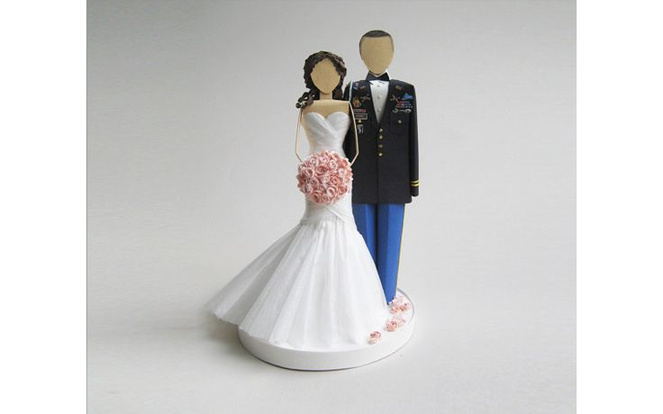 Army Wedding Cake Topper | concarta