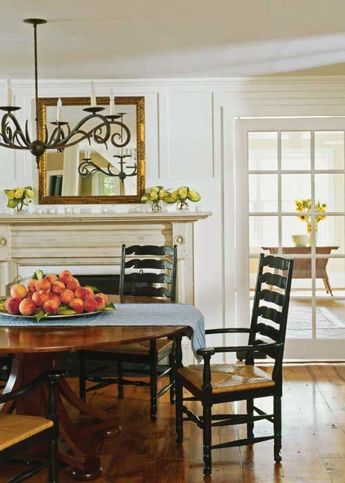 Country Dining Rooms Decorating Pinterest