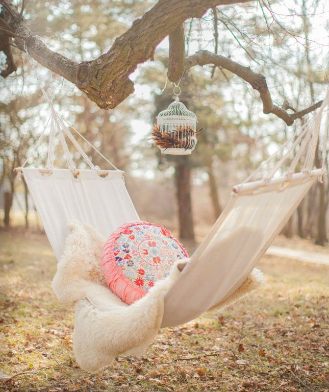 8) Hammock: Do you love hammocks as much as I do? Make sure to check out this post :)