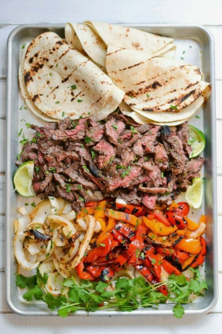 Skirt Steak Fajitas | Yummy Stuff | Pinterest
