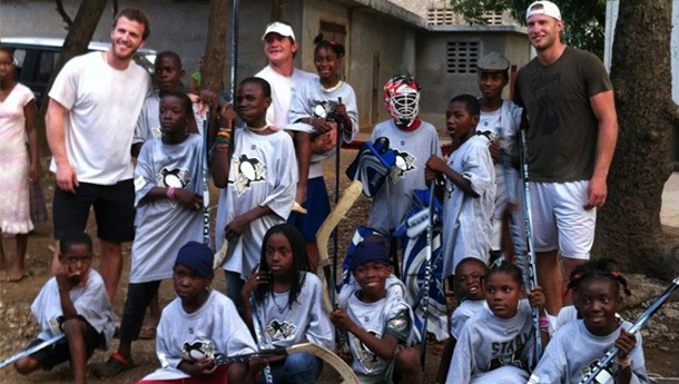 Vitale, Cooke were inspired by trip to Haiti