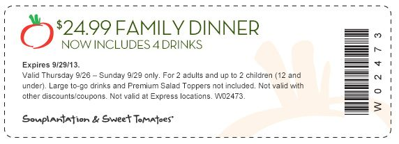 Souplantation coupon lunch 2018