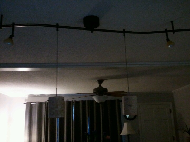 track lighting kitchen island remodel