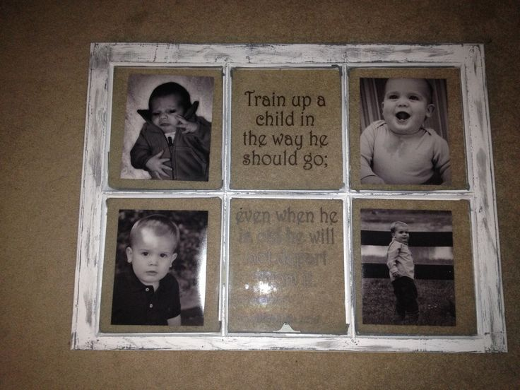 Old window frame decorating ideas pinterest for Using old windows as picture frames