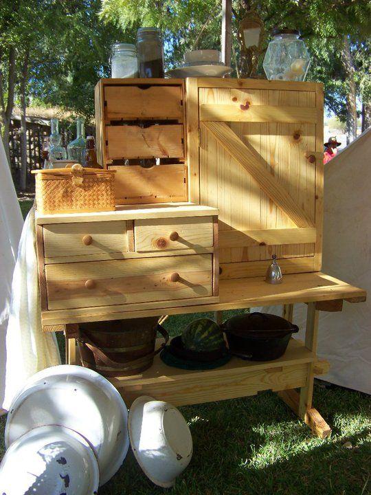 Camping Kitchen : camp kitchen  camping ideas  Pinterest