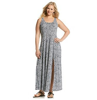 Younkers Plus Size Maxi Dresses 50