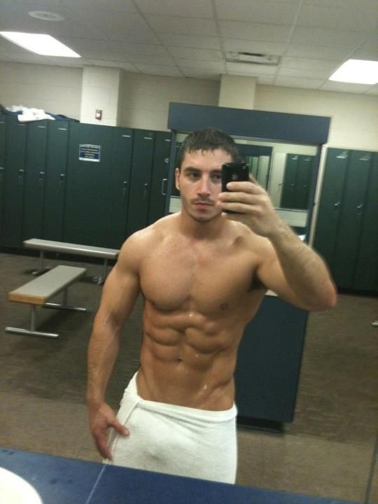 Gym shower nude Nude Photos 8