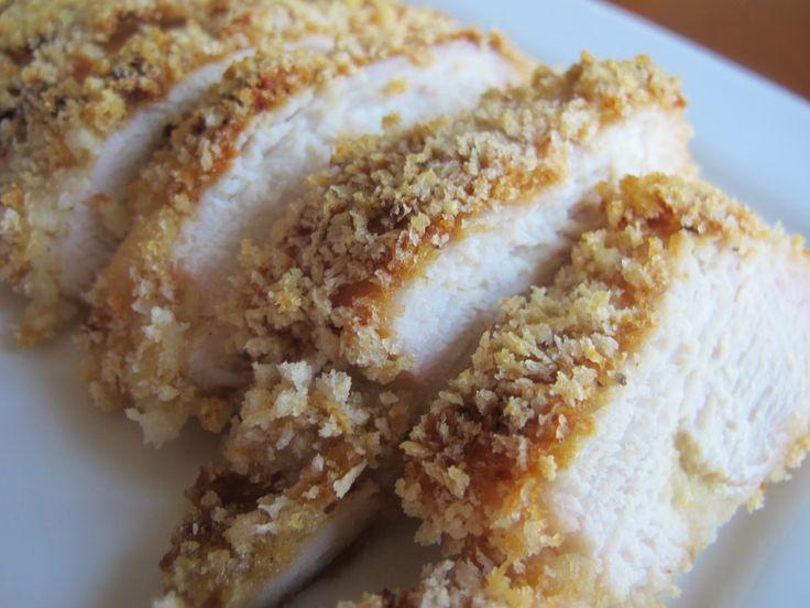 Crispy baked honey dijon chicken | Recipe