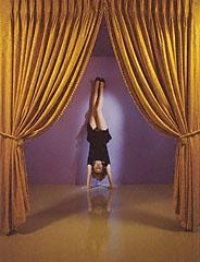 GYMNASTICS. Performance, Jo Ann Callis, 1985. © Jo Ann Callis