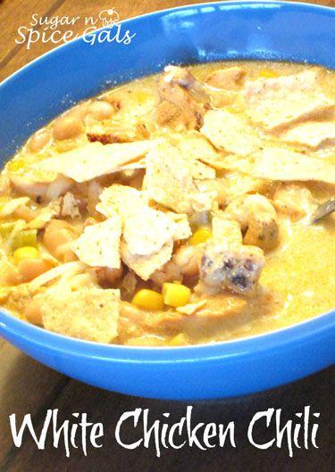 White Bean Chicken Chili | Food Crockpot Soups & Stews | Pinterest