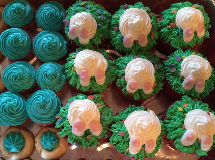 Easter Cupcakes and cookies   Sweet Shop Ideas   Pinterest