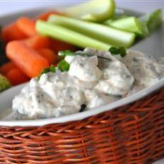 No-Guilt Zesty Ranch Dip | Food | Pinterest