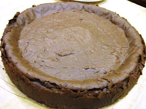Deep dark chocolate cheesecake | With Pleasure | Pinterest