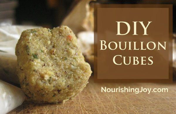 Homemade Bouillon Cubes | Recipe