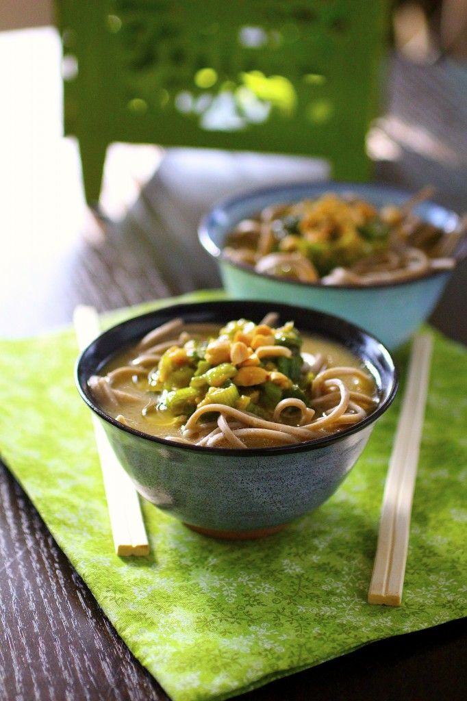 Ginger Broth | The Curvy Carrot Soba Noodles in Mushroom-Ginger Broth ...
