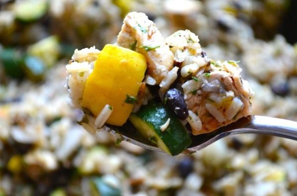 ... black bean green chili rice skillet chicken and black bean green