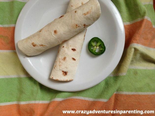Shredded Taco Chicken Salad Wraps | http://crazyadventuresinparenting ...