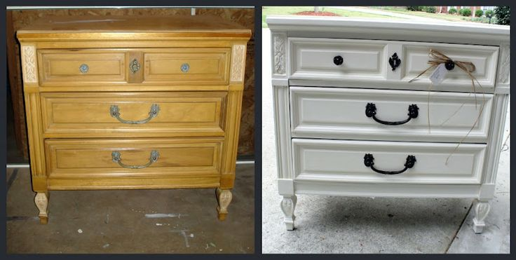 TONS OF BEFORE AND AFTER FURNITURE REDOS......Before Meets After: Reclaimed Furniture