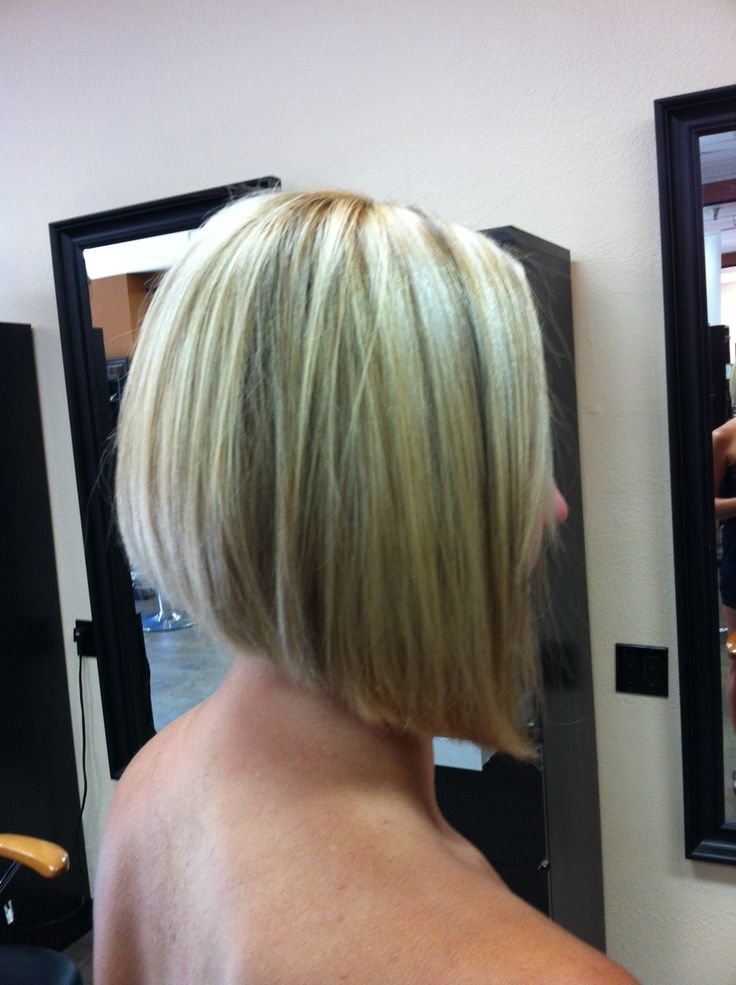 Angled Bob Medium Hairstyles