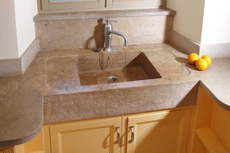 Natural Stone Kitchen Sinks : natural stone kitchen sink OCCITANIE PIERRES
