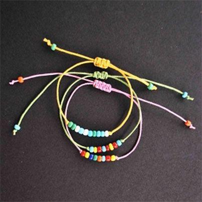 Beaded Friendship Bracelets DIY | Diy Bracelets | Pinterest How To Make Friendship Bracelets With Beads