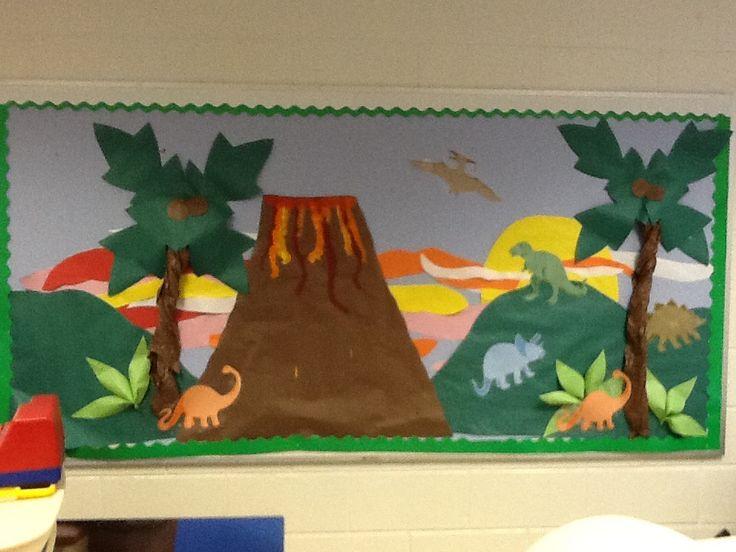 Bulletin Board Dinosaurs Boards/Door ... & Dinosaur Classroom Door Pictures to Pin on Pinterest - PinsDaddy Pezcame.Com