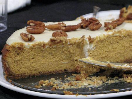 Bourbon Pumpkin Cheesecake Recipe | If it's sweet, its good | Pintere ...