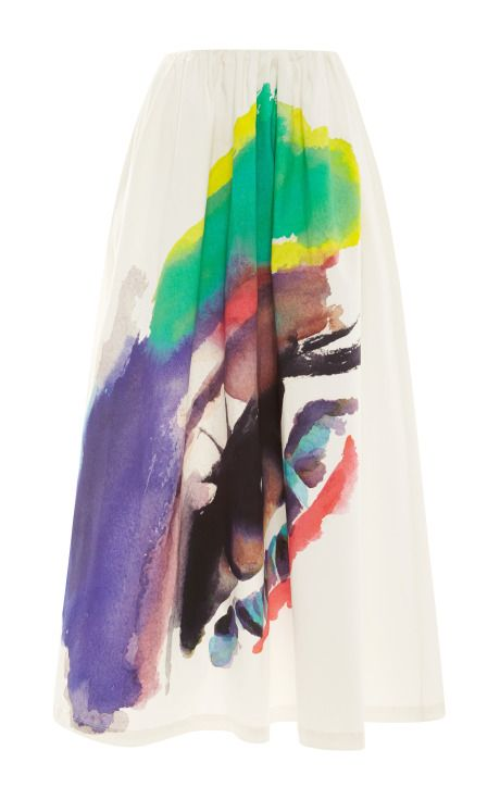 Shop now: Isa Arfen Painted Skirt