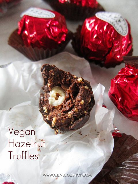 Hazelnut truffles - Wow, so easy to make. I will certainly be doing ...