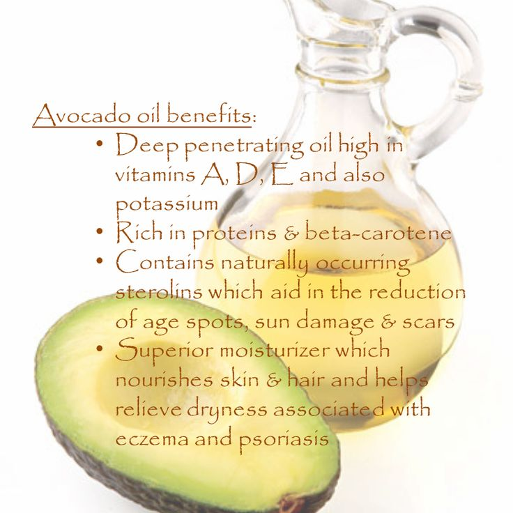 how to choose avocado oil for hair
