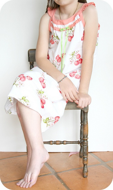 Badminton dress as nightgown