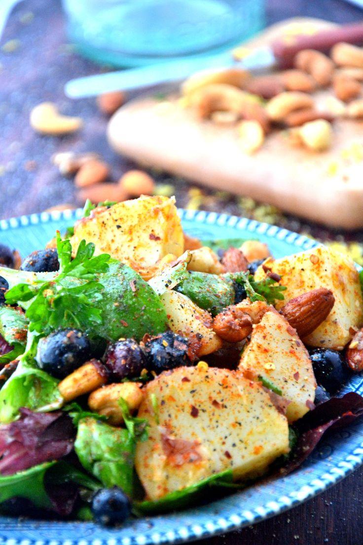 Summer Blueberry Idaho® Potato Salad by @The Healthy Apple | Recipe ...