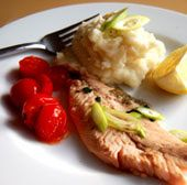 Pan Fried Trout with Garlic and Lemon | Clean Eating (Recipes to try ...