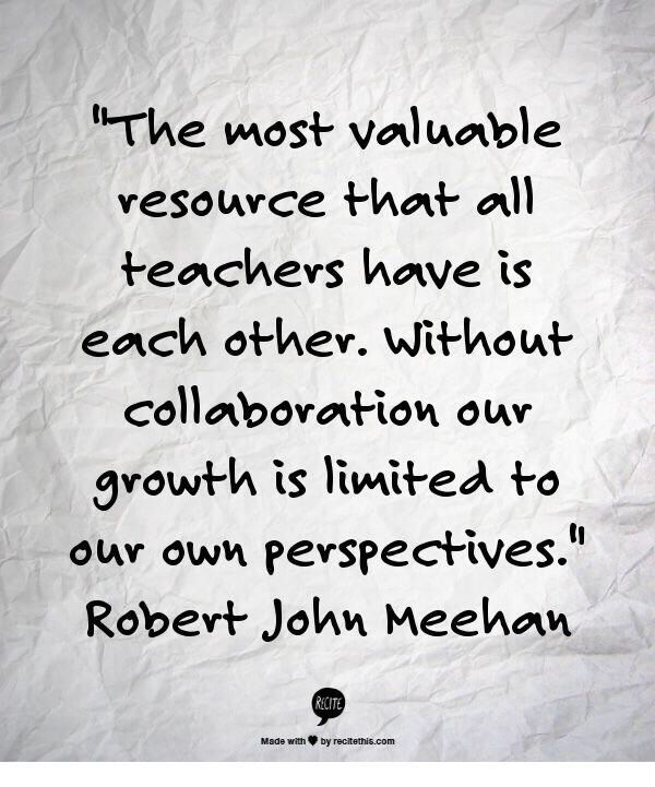 Collaborative Teaching For Teacher Educators ~ Quotes about collaboration in education quotesgram