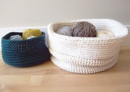 new baskets in shop