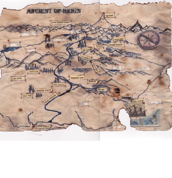 Ancient Map of Reign