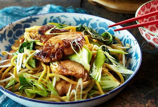 Teriyaki Chicken With Soba Noodles | My Recipe File | Pinterest