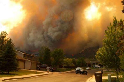 Stock photo - waldo canyon fire 2012