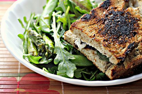 Grilled Goat Cheese Sandwiches Recipe | Ode to the Sammich | Pinterest