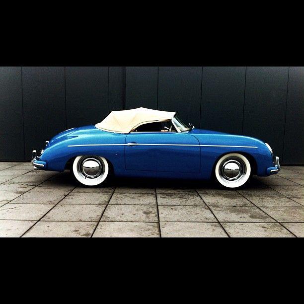 Blue Porsche 356 Cars Pinterest